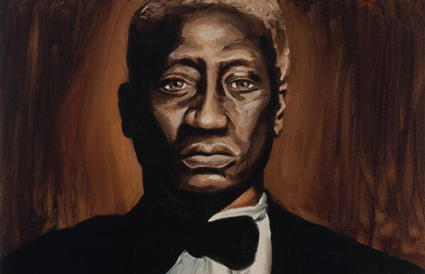 Leadbelly, Oil painting